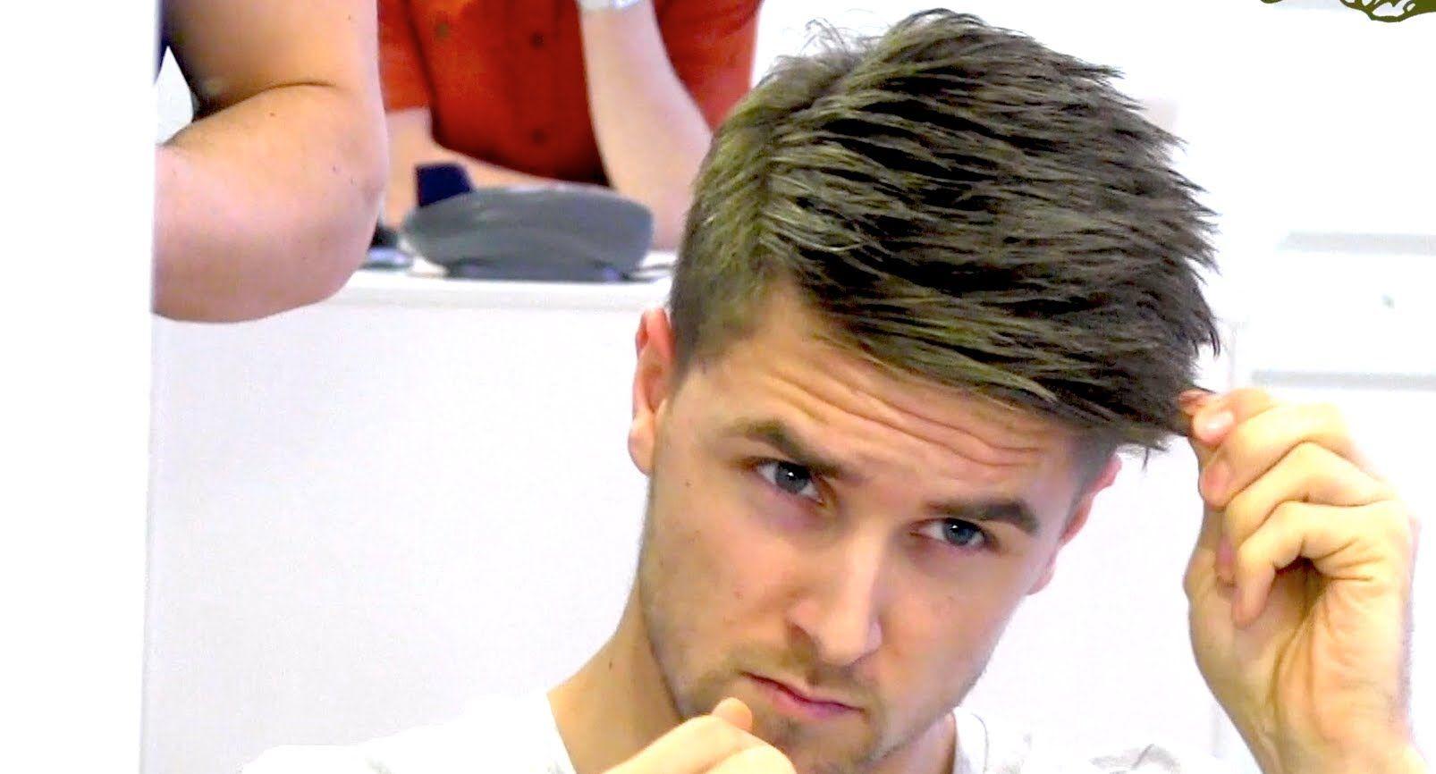 Fresh haircut men how to style your hair like  marco reus fresh footballer hair