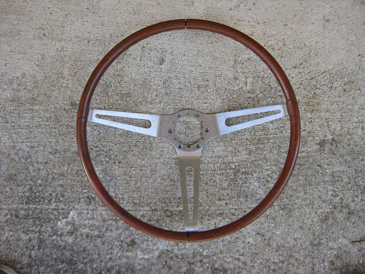 Vintage 1969 Gm Chevrolet Rosewood Steering Wheel