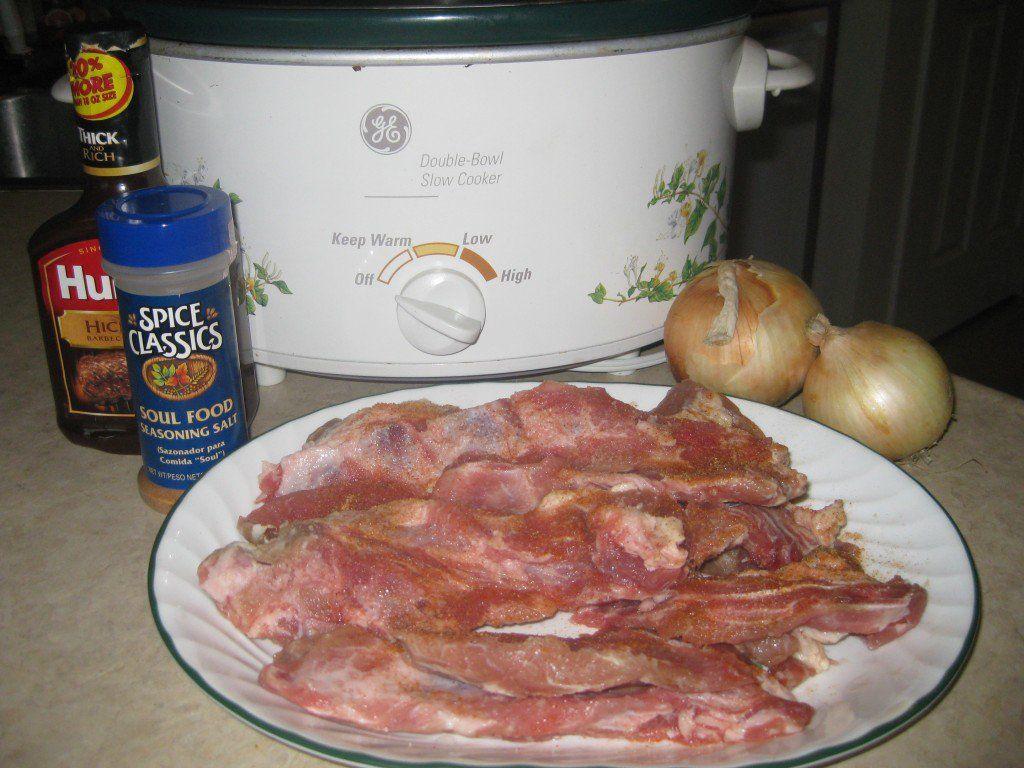 No Fuss Bbq Pork Riblet Recipe Riblets Recipe Pork Riblets Recipe Bbq Pork