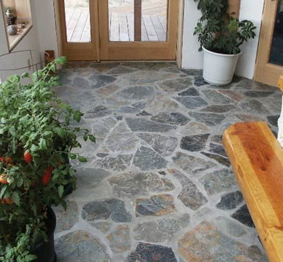 Using Flagstone As An Interior Surface Is Usually An