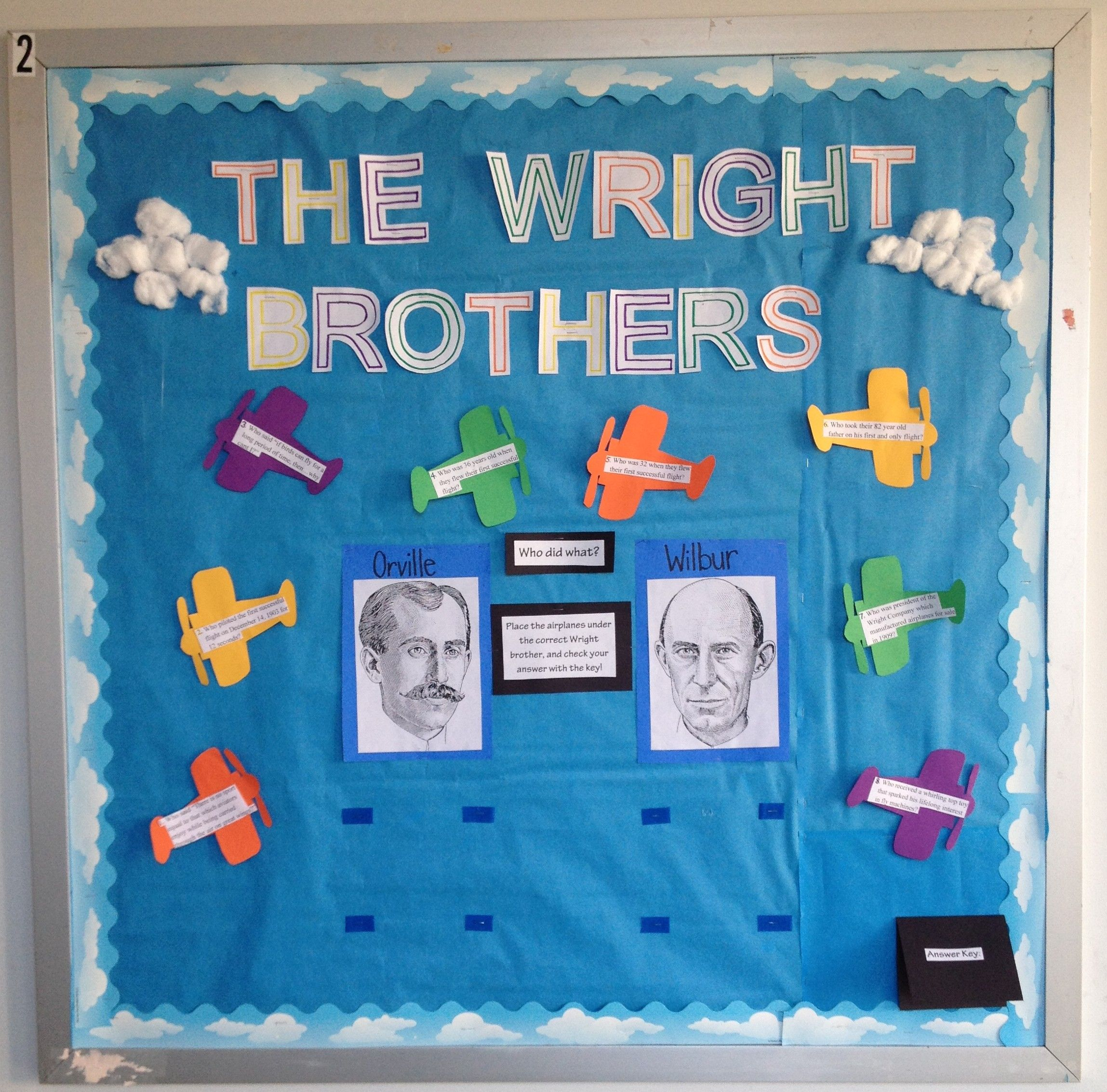 Wright Brothers Worksheet