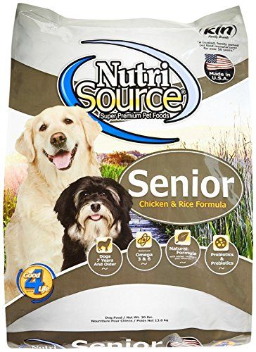 Tuffy S Pet Food 131135 Nutrisource Senior Dog Chicken Rice Food