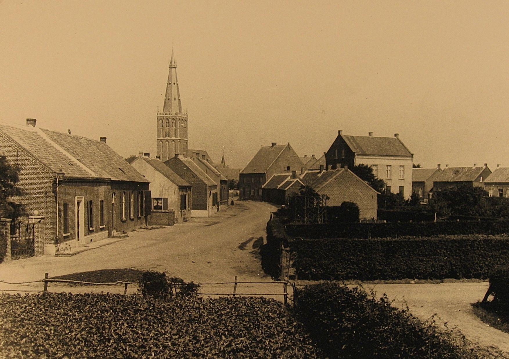 Posthuisstraat Tegelen anno 1898
