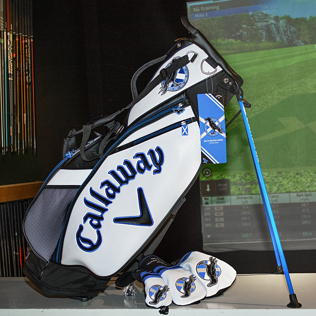 01e4eb0c78f9b Limited edition  Callaway Open Tour Staff Stand Bag. Specifically created  to celebrate the 8th