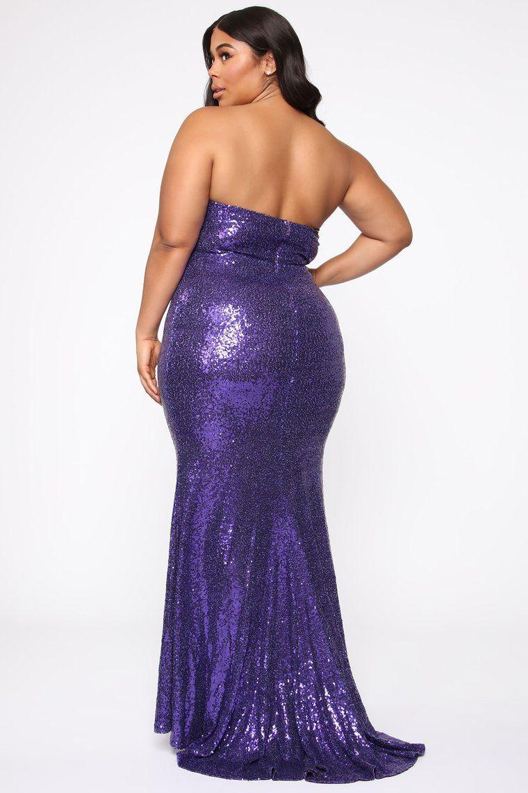 Like A Star Mermaid Gown Purple Mermaid Formal Gowns Purple Dresses Formal Purple Dress Style [ 1140 x 760 Pixel ]