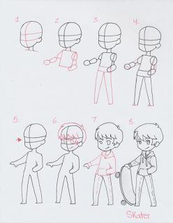 How To Draw A Chibi Boy : chibi, Manga, Interest, Chibi, Drawings,, Sketch,, Anime, Drawings, Tutorials