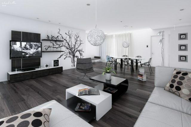 Best Salon Moderne Chic Pictures - Home Design Ideas ...