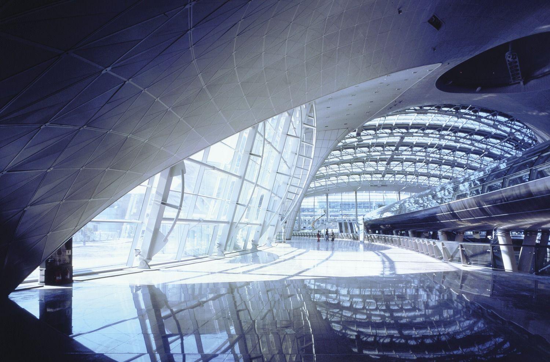 Terminal Interior Incheon Terry Farrell South Korea