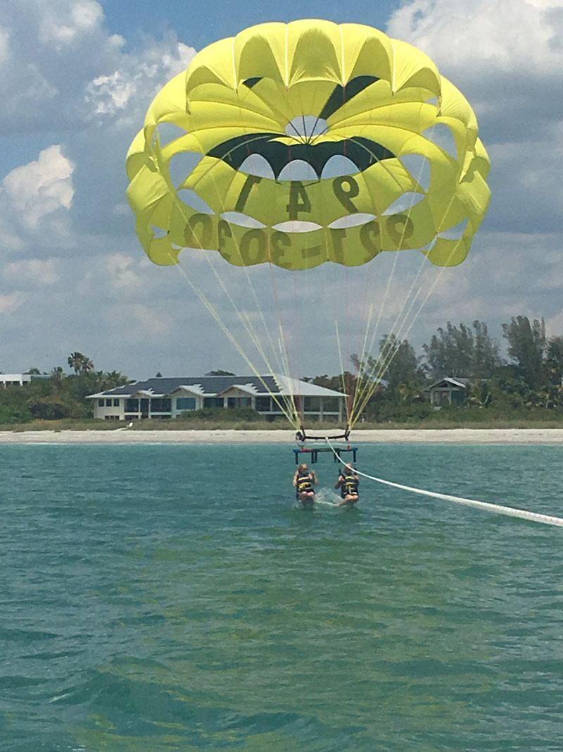 Parasailing siesta key parasailing jet ski rentals