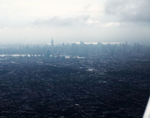 New York City from above.