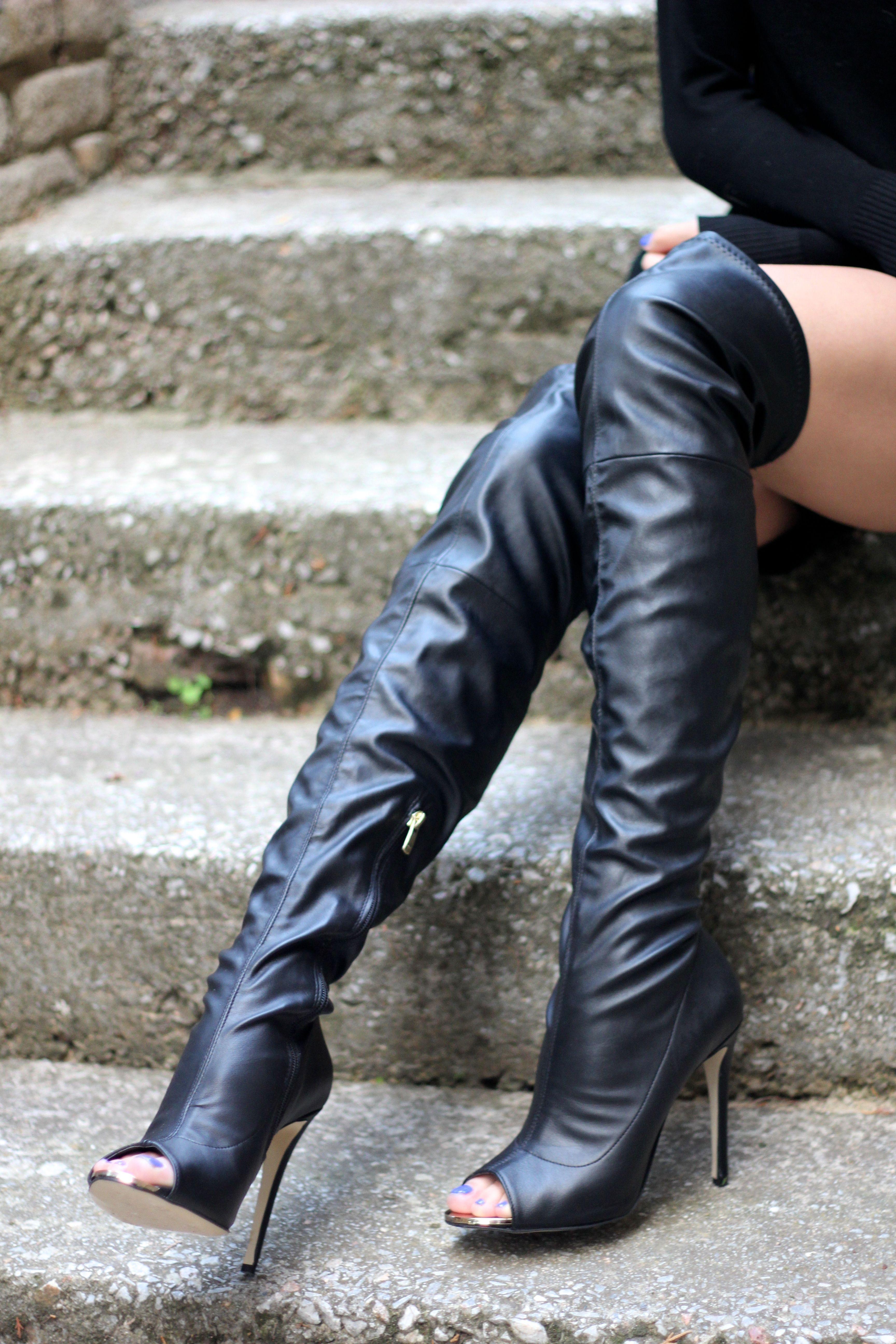 Allyouneedisstyle blog: New York - peep-toe boots | boots ...