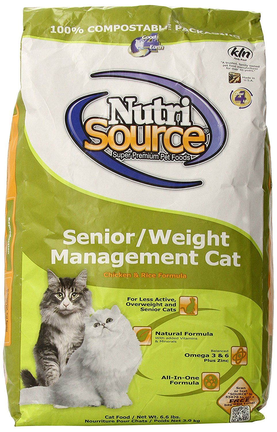 Nutri Source Senior Weight Management Chicken and Rice
