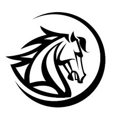 Tattoo Tribal Horse Horse Logo Horse Head Vector Illustration