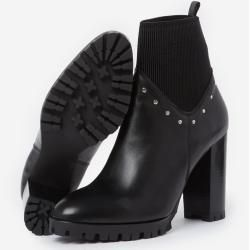Photo of The Kooples black ankle boots with studs – Herrenthekooples.com