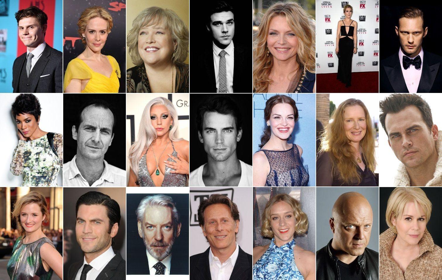 Hotel American Horror Story Cast