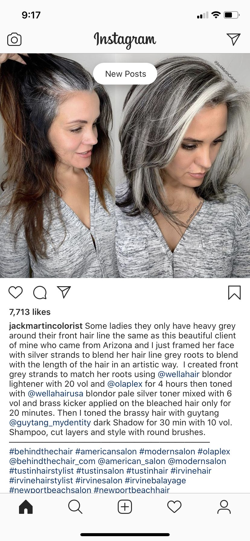 Pin by Lolo Schiefen on My Gray Hair Transition   Long