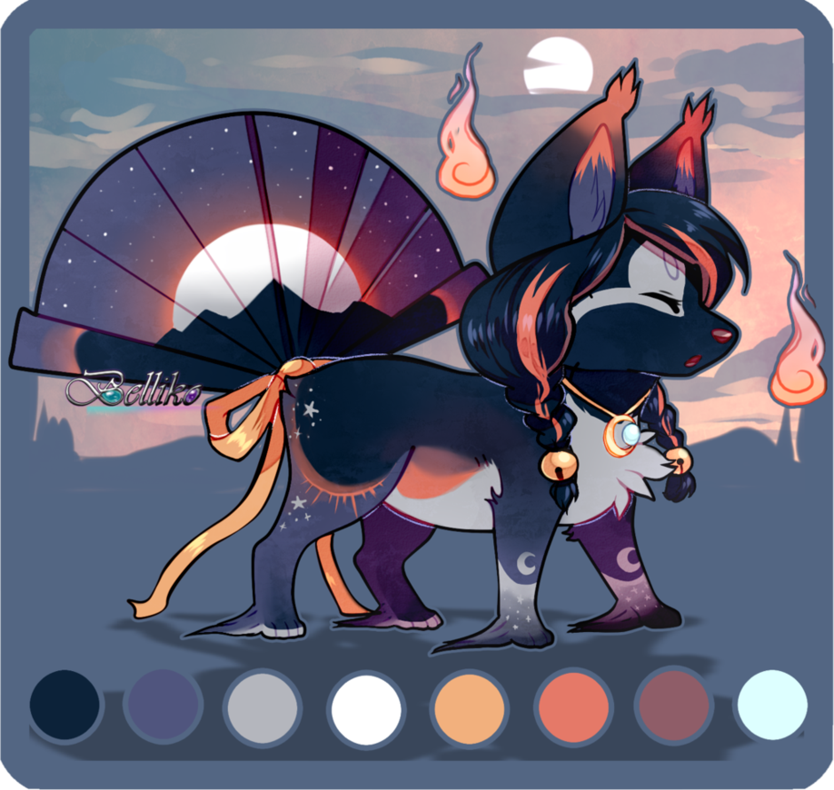 Solar and Lunar Eclipse//CUSTOM by Belliko-art deviantart