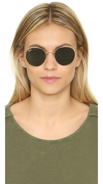 Ray Ban Rb3532 Icons Round Sunglasses Round Sunglasses Round Metal Sunglasses Sunglasses Women