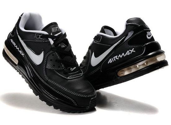 Nike Air Max LTD Shoes Men's BlackWhite nikeoutlet20858