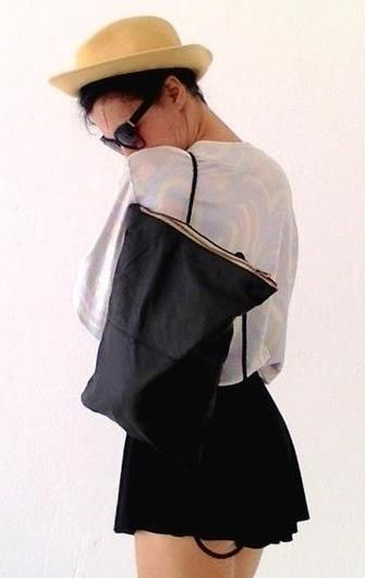 Cooler Lederrucksack auf Miralia.de von tfazia // #secondhand #secondhandfashion #miralia