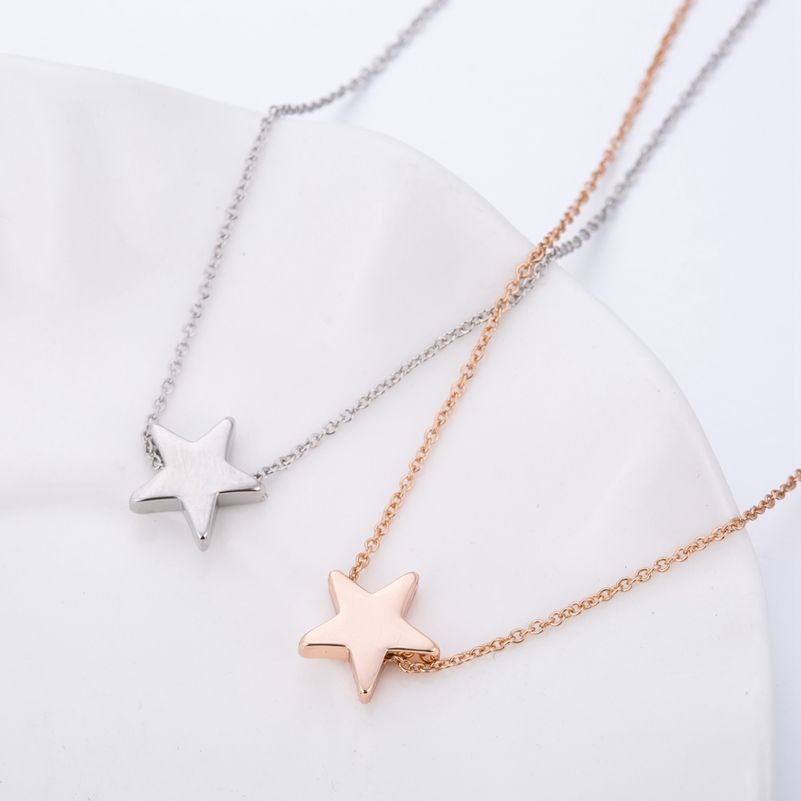 image tiny muru star necklace jewellery vermeil gold necklaces hope
