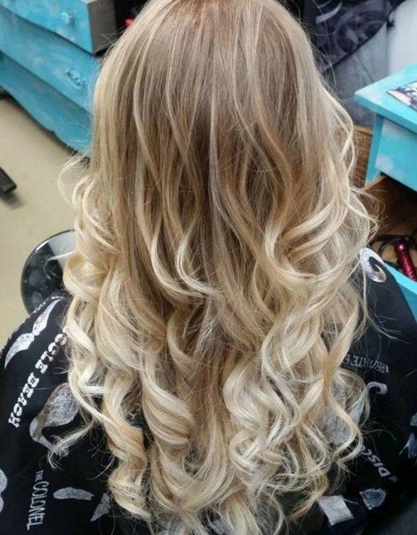 Uclari Acik Sari Sac Modelleri Blonde Hair Color Hair Styles Brunette Hair Color