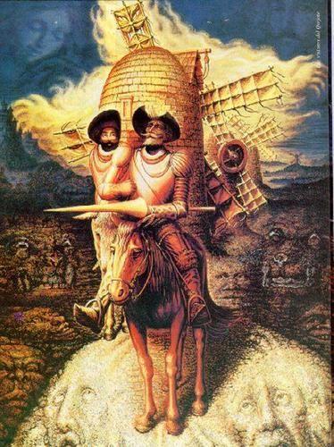 Don Quijote De La Mancha De Miguel De Cervantes Ayudo A