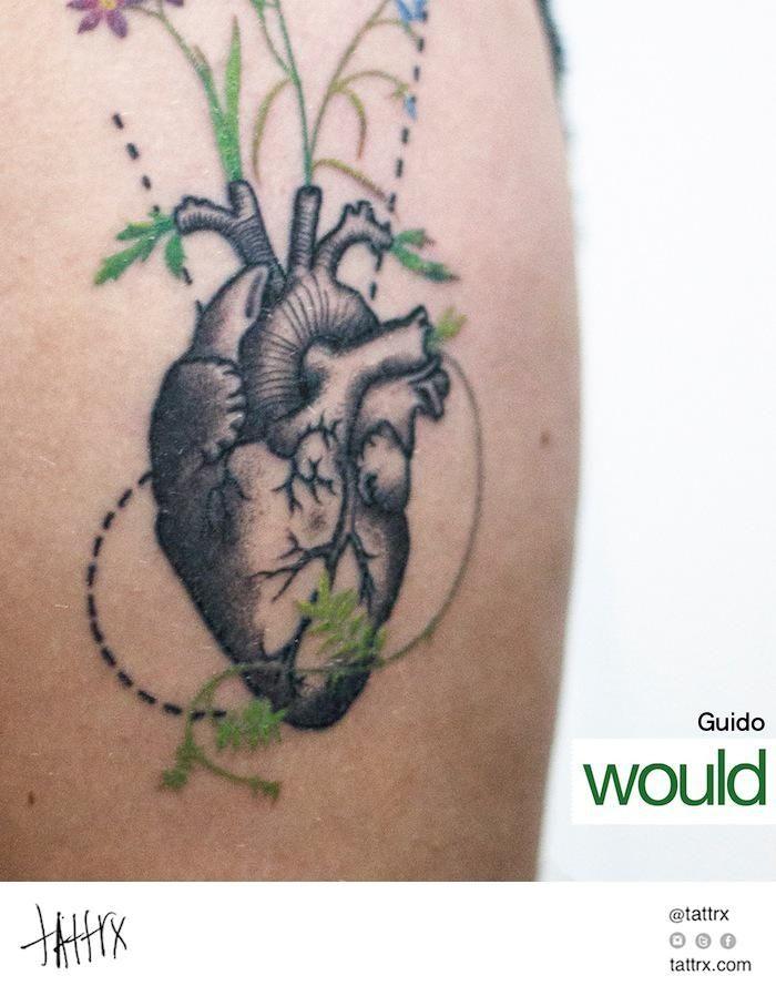 Guido, Would tattoo