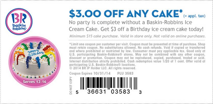 Check out offers from BaskinRobbins using GeoQpons app on