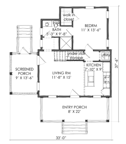 House Plan Tnh Pc 09a By Moser Design Group House Plans Small House Design Plans New House Plans