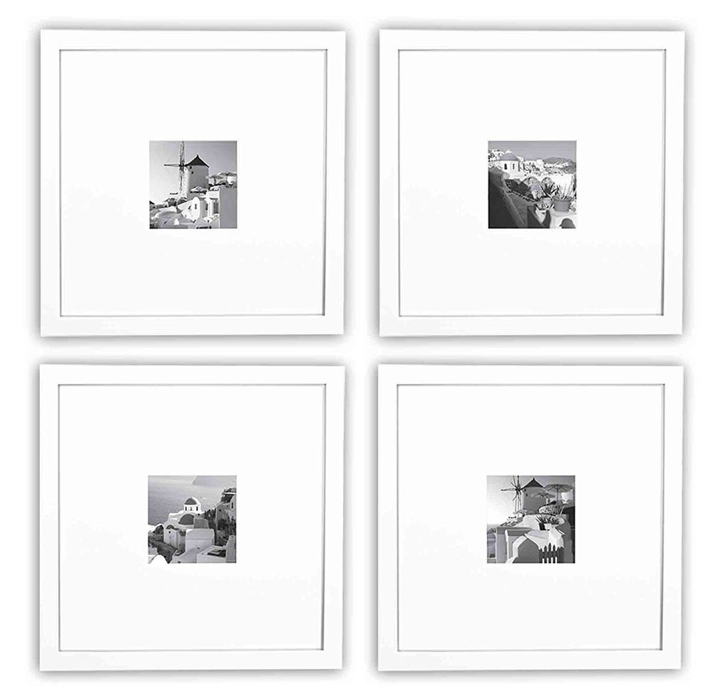 Details About Smartphone Frames Collection Set Of 4 11x11 Inch Square Photo Wood Frames White Frame Collection Instagram Frame White Frame