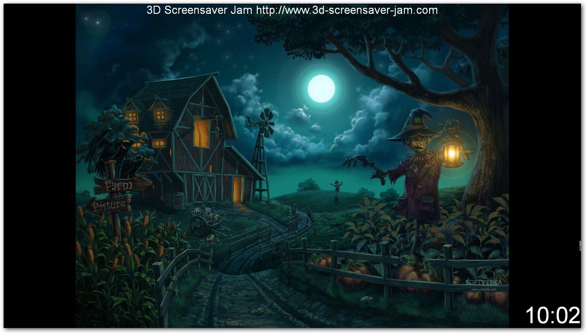Halloween Screensavers   Halloween Screensaver screenshot 1 - Free Autumn Halloween Screensaver ...