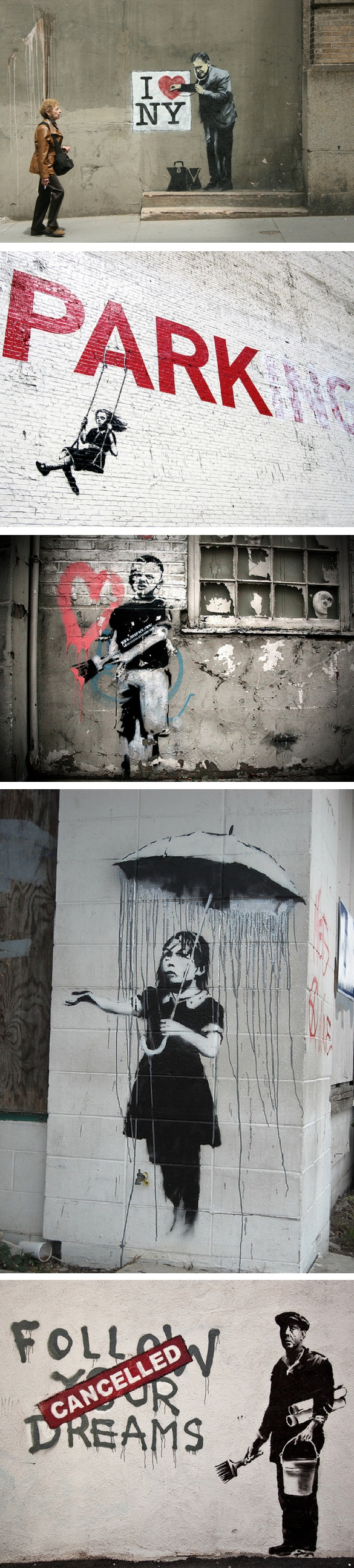 Best of Banksy [canvas prints at romeotees.com]