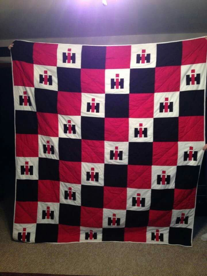 International Harvester Quilt I Made For A Customer Quilts