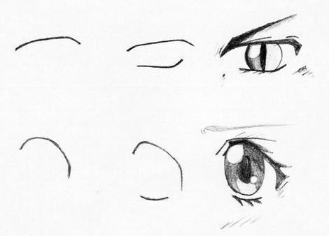 dessin manga a reproduire par etape