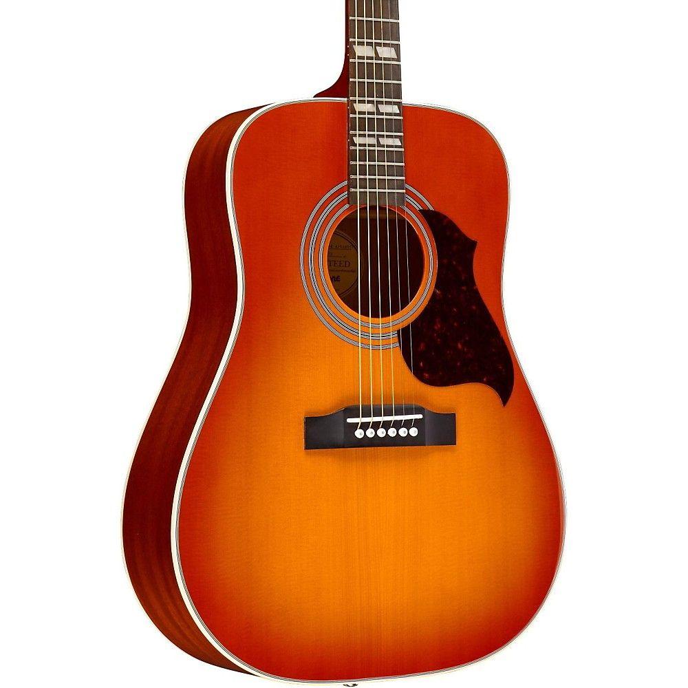 Epiphone Hummingbird Artist Acoustic Guitar Semi Acoustic Guitar Epiphone Guitar