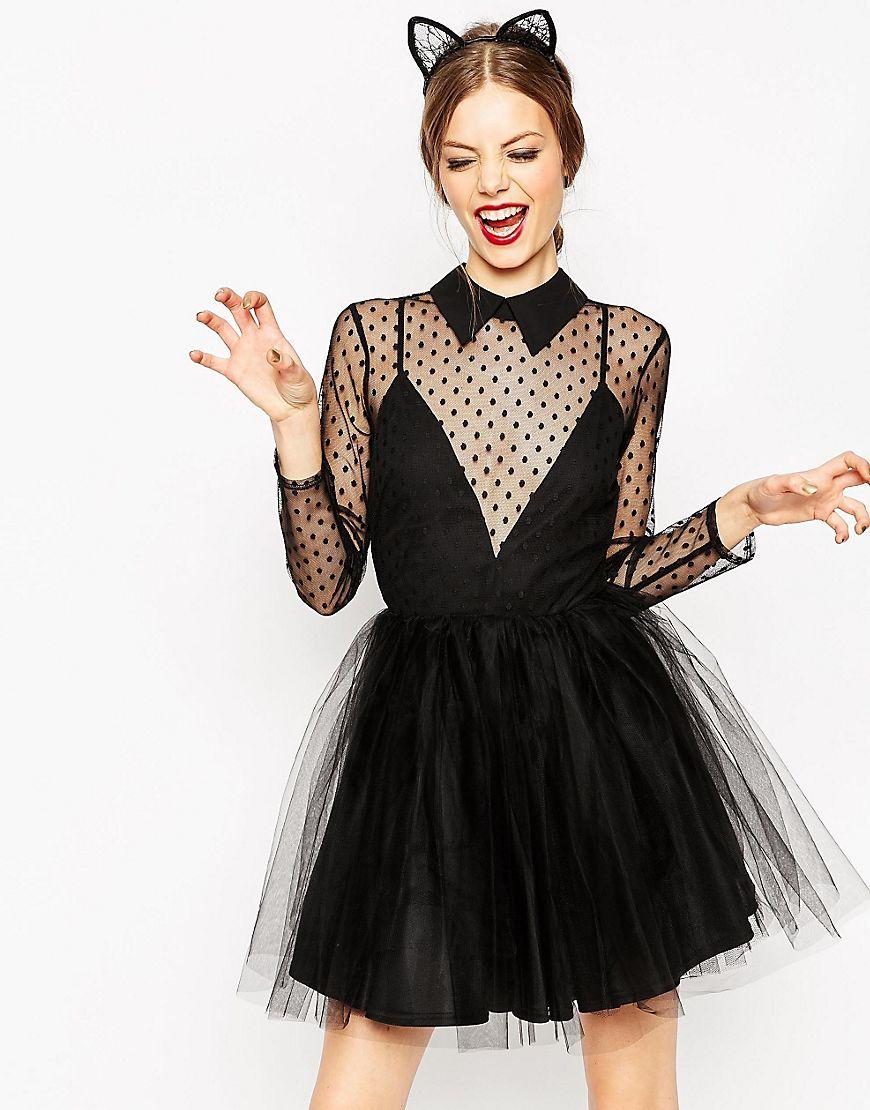 robe courte patineuse style bal de promo avec dentelle et plumetis tutus tulles pinterest. Black Bedroom Furniture Sets. Home Design Ideas