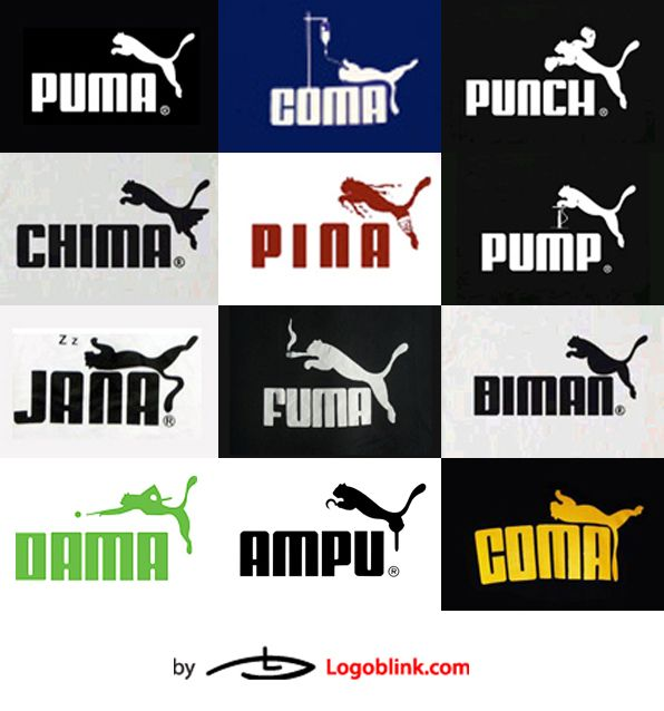 puma logo history