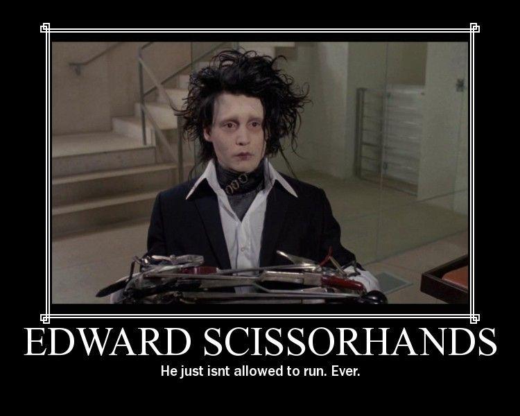 Edward Scissorhands Edward Scissorhands Tim Burton Characters