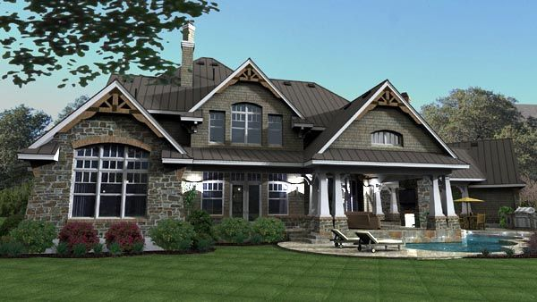 House plan 65872 cottage craftsman european victorian plan with 3349 sq ft 4 bedrooms 4 bathrooms 3 car garage at family home plans