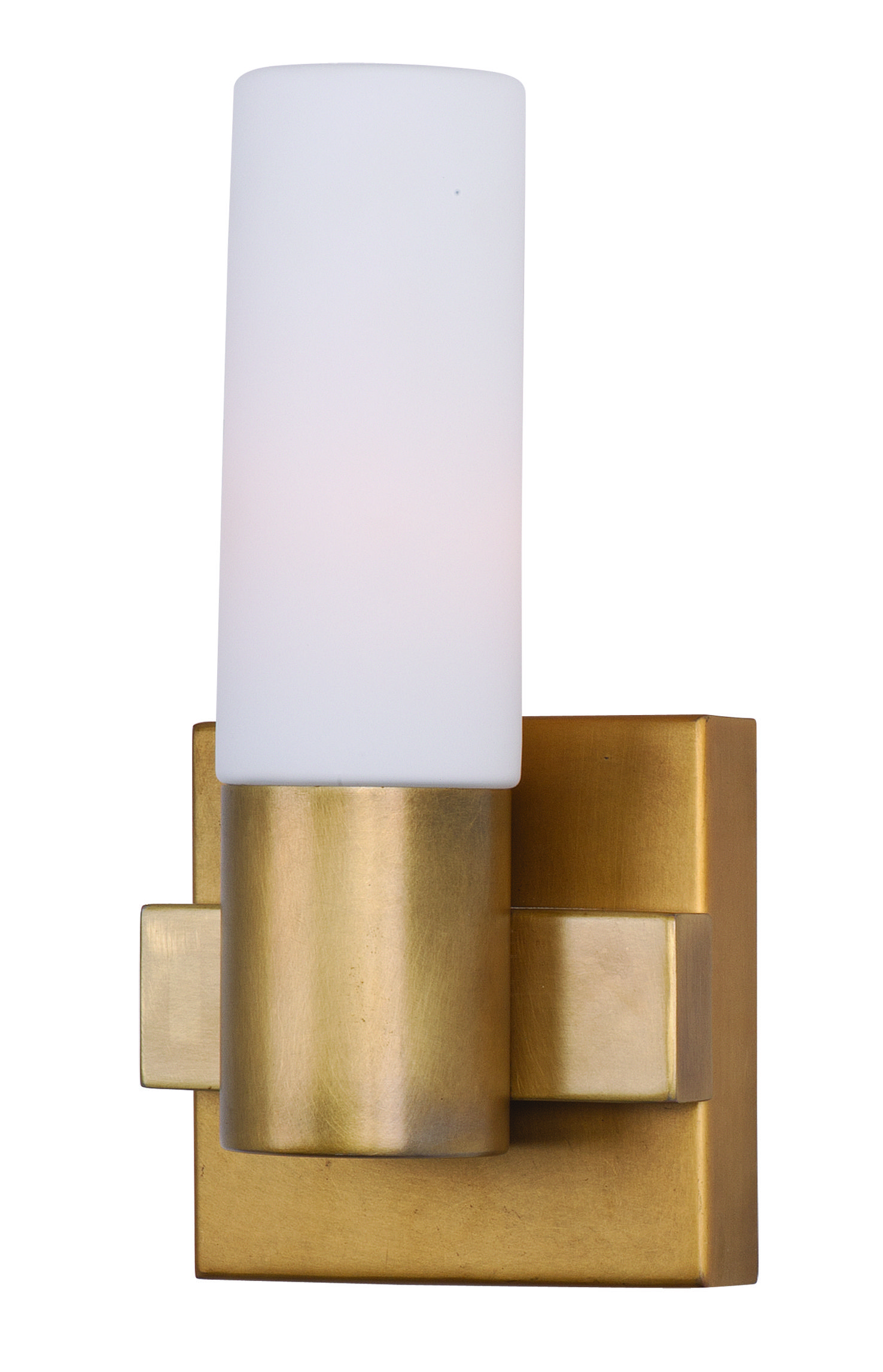 Photo of Maxim Lighting 22411SWNAB Contessa wall lamp made of brass from natural age