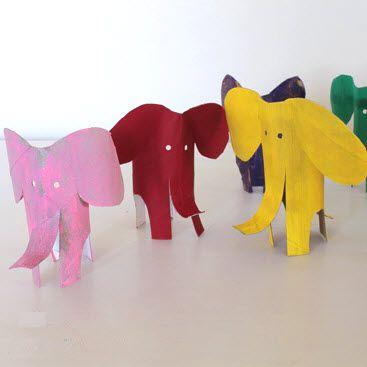 Préférence Eléphant en rouleau carton | Activites | Pinterest | Rouleaux  ZP43