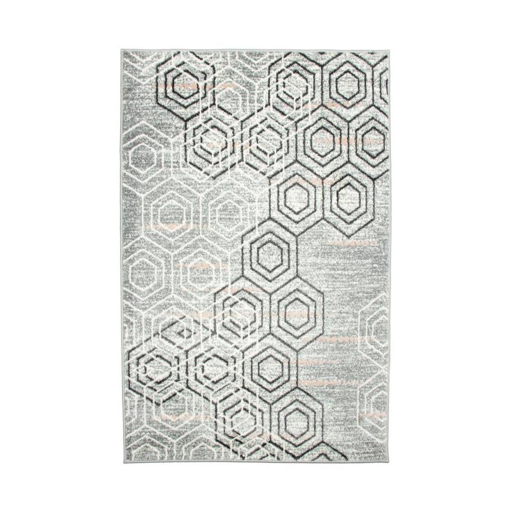 Dywan Pastel Heksagon Szary 80 X 150 Cm Dywany Wewnetrzne W Atrakcyjnej Cenie W Sklepach Leroy Merlin Carpet Rugs Home Decor