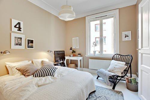 slaapkamer met leuke decoratie ideen