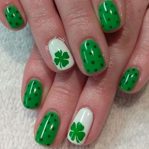 St Patricks Day Nails 66 Best St Patricks Day Nail Art Nails