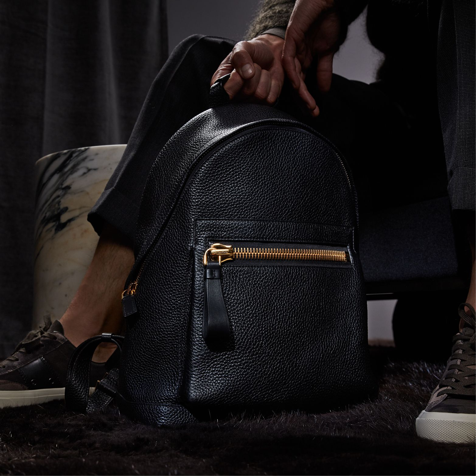 a1e786cbeb0e Medium buckley backpack in 2019 | TOM FORD AW17 MENSWEAR | Backpacks ...