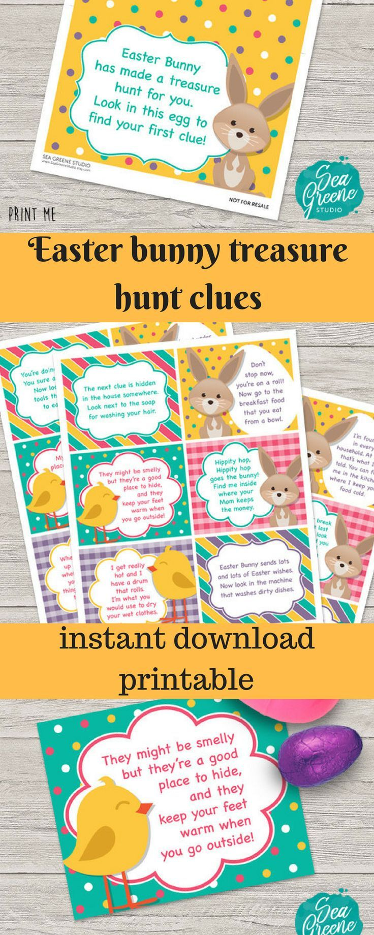 What a great idea easter bunny treasure hunt have your kids hunt what a great idea easter bunny treasure hunt have your kids hunt for their negle Gallery