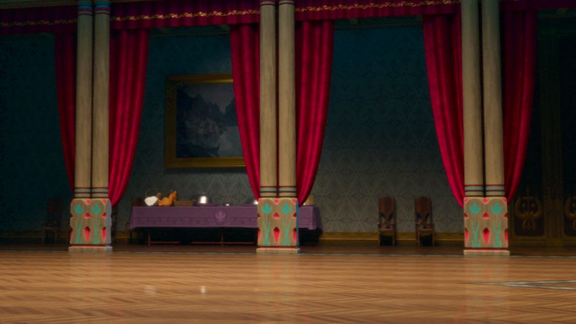 Disney Frozen Anna And Elsa Coronation Ball Room Hidden