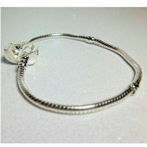 European Style Charm Bracelet Chain  7 1/2