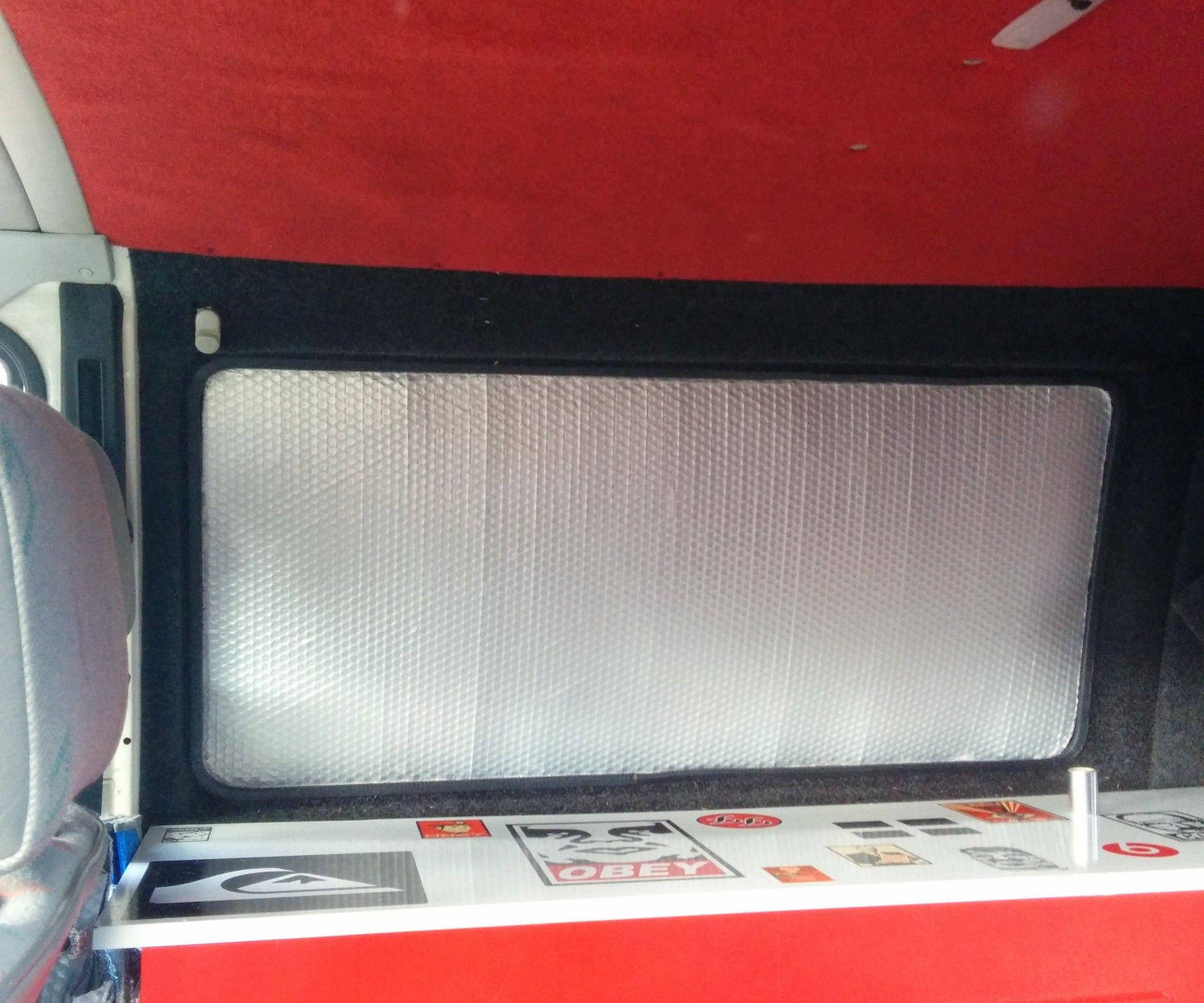 Camper Van Thermal Window Blinds